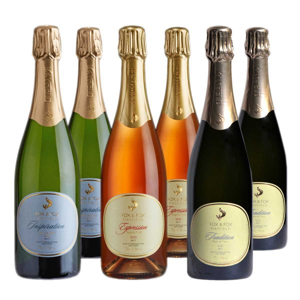 6 bottles of fizz from Fox & Fox