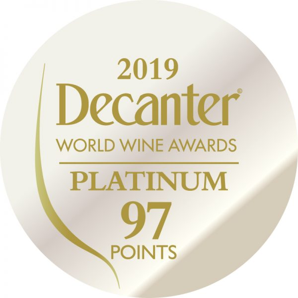 Decanter Platinum Medal awarded to Fox & Fox Tradition 2014