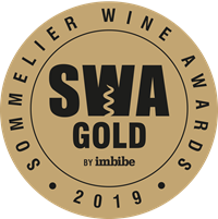 Sommelier Wine Awards Gold Medal 2019 awarded to Fox & Fox Tradition 2014