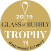 Glass of Bubbly Trophy 2019 Gastronomic Awarded to Midnight 2011
