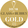 Glass of Bubbly Gold Medal Classic & Elegant awarded to Mosaic 2014