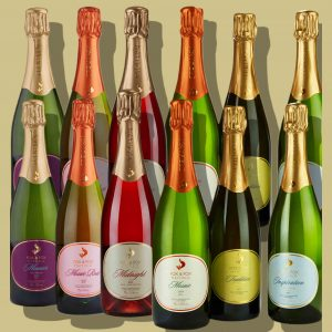 12 days of Christmas double case of Fox & Fox Sussex Sparkling Wines